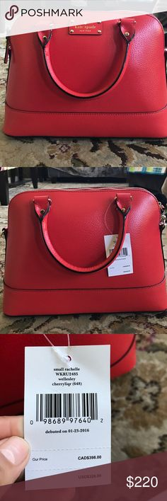 Kate Spade rachelle Satchel Brand new, 100% authentic small rachelle Satchel. It comes with straps and tags. Send me your offers. kate spade Bags Satchels
