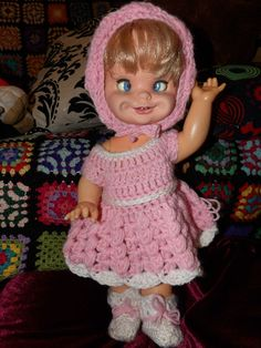 RARE VINTAGE 70's *SAUCY SUZIE* By MATTEL - QUIRKY FACE CHANGING PRAM DOLL in Dolls & Bears, Dolls, Clothing & Accessories, Vintage Dolls   eBay