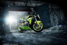 Honda CBR1000 on Behance