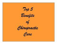 Top 5 Benefits of Chiropractic Treatment screenshot