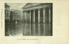 Pantheon in the floods 1908