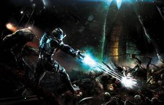 A look inside… The Art of Dead Space