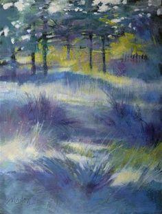 Oil Study 15 - Original Fine Art for Sale - © Barbara Benedetti Newton