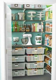 Thinking about repurposing an unused space in my living room (the space nearest to the kitchen) into a pantry.
