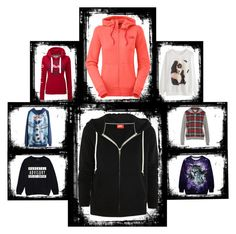 """Hoodies women"" by luobruce on Polyvore"