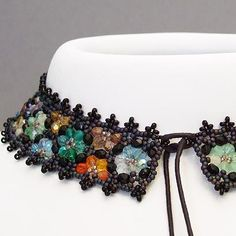 Beaded Necklace from kronleuchterjuwelen.de featured as Eye Candy in Bead-Patterns.com