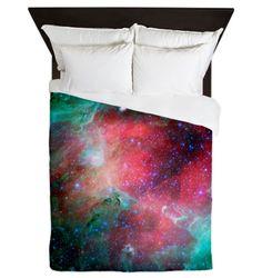 Nebula Galaxy Queen Duvet