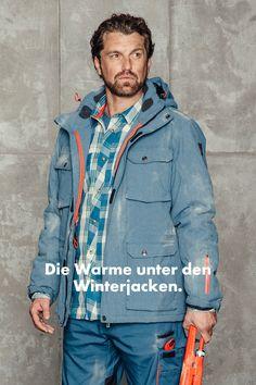 """Warmer Winterparka von WÜRTH MODYF. Der Workwearspezialist von WÜRTH. Nagelneue Kollektion """"NATURE"""" www.modyf.de"""