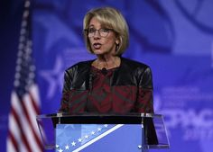 Betsy DeVos Accused Of 'Whitewashing' The History Of Black Colleges:  February 28, 2017  -      Scholars have attacked Secretary of Education Betsy DeVos' statement historically black colleges and universities for being