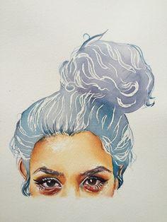 Watercolor meee