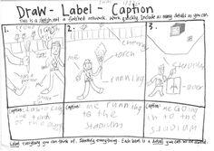 Writing Captions (Chalk Talk: A Kindergarten Blog