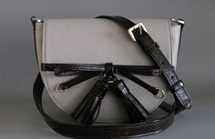 Women bag of BETTI-M from a genuine leather. Fashion bag. Leather handbags
