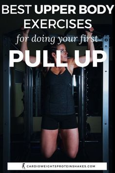 Learn how to do a pull up by working out and increasing your strength. These upper body exercises target your arms and back muscles so that you can pull and lift your body weight. Get lean muscle and get stronger with the Pull Ups for Beginners tips! Yoga Fitness, Physical Fitness, Fitness Tips, Fitness Quotes, Fitness Humor, Fitness Plan, Fitness Journal, Fitness Logo, Muscle Fitness