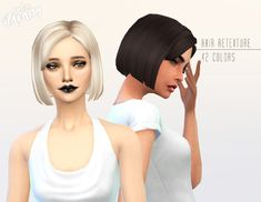 Miss Paraply: Kiara24  Sideswept hairstyle  - Sims 4 Hairs - http://sims4hairs.com/miss-paraply-kiara24-sideswept-hairstyle/