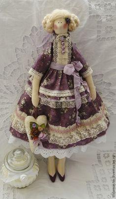 Куклы Тильды ручной работы. Ярмарка Мастеров - ручная работа. Купить Шанталь , ягодный вкус. Handmade. Тильда, Цветочная фея
