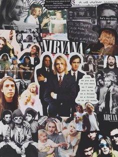 Nirvana collage