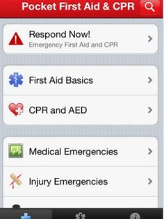 Pocket First Aid and CPR:  You can access and store health information for you and your loved ones in this app from the American Heart Association. Features include 34 videos, 46 illustrations and a section to update and store your enhanced medical profile. With information on adult and infant choking and CPR strategies, this app makes it easier for you to track down medical content.