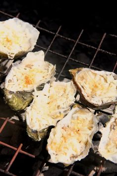 oysters rockefeller - on the grill! perfect summer appetizer.