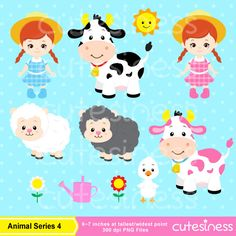 Farm Digital Clipart Farm Clipart Farm Clip Art Animal Farm
