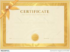 Gold Voucher Gift Certificate Coupon Ticket  Marc Loire