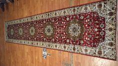 Hand knotted silk rug # Rug No.: P4288 # Quality: 150L (156kpsi) # Size: 2.5x12ft (76x366cm) # Material: Artificial Silk # wholesale Price: $480/piece # If you have any interests, please email to sales@bosicarpets... Hand-madecarpet#orienatlrug#oldrug#Kashmirrug#Chinacarpet#Iraniancarpet#boteh#HeratiGul# Isfahan#Tabriz#Qum#Nain#Kashan#Kerman#Bijar#Sarouk#Caucasian#antiquecarpet#bosicarpet