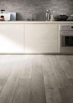 44 ideas kitchen grey floor tiles dark for 2019 Ceramic Wood Tile Floor, Wood Effect Floor Tiles, Grey Wood Tile, Grey Floor Tiles, Wood Tile Floors, Grey Flooring, Gray Floor, Porcelain Floor, Parquet Tiles