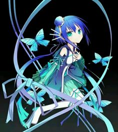 Aoki Lapis, Vocaloid Vocaloid, Anime Kunst, Anime Art, Kawaii Anime, Aoki Lapis, Chibi, Join, Fan Art, Cartoon