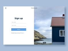 Daily UI 001 - Sign Up by Natalia Daily Ui, Signs, Shop Signs, Sign