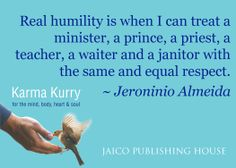 Jeroninio Almeida, Karma Kurry for the Mind, Body, Heart & Soul