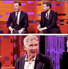 That time he stunned Harrison Ford with his Chewbacca impression.