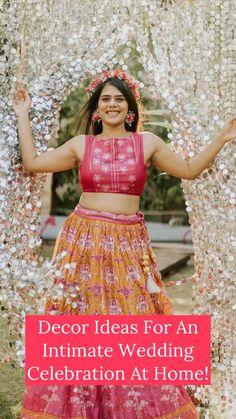 Wedding Mandap, Wedding Stage, Home Wedding, Indian Bridal Outfits, Wedding Outfits, Wedding Wear, Indian Wedding Decorations, Stage Decorations, Indian Weddings