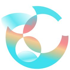 C como logotipo.