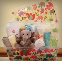 Baby Shower Gift Idea with all the essentials.