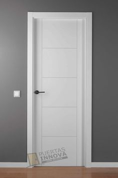 Puerta Lacada Blanca LAC-9204   Puertas Innova S.L.U