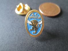 a6 BRESCIA FC club spilla football calcio soccer pins fussball italia italy