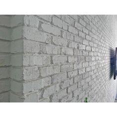 3d Brick Wall Panels, Brick Veneer Panels, Brick Wall Paneling, Faux Brick Panels, White Brick Walls, Exterior Brick Veneer, Paneled Walls, Fake Brick Wallpaper, Brick Wallpaper Bedroom