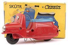 jouet Scooter Cezeta