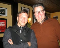 Walter Hergt, a freelance photographer, and Colin Chambers, the inn's co-owner.