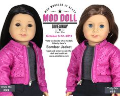 Enter to win this week's Mod Doll Monday Giveaway and win a doll and designer outfit. http://www.pixiefaire.com/blogs/freebies-and-giveaways/56447045-mod-doll-monday-oct-5-12-2015-who-models-it-best
