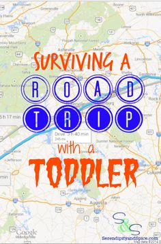 Surviving a Road Trip with a Toddler ~ http://serendipityandspice.com