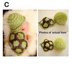 Eozy Bébé Costume de déguisement animal - Bonnet Chapeaux bébé chouette en crochet pour 3-6 mois Nouveau-né Garçon Fille Photographie Photo-tortue aimable vert de Eozy, http://www.amazon.fr/dp/B00CJ386X4/ref=cm_sw_r_pi_dp_2Zt7rb02KK9MX