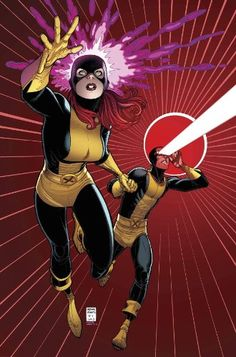 #XMen: Battle of the Atom, Part 3, No. 5 Scott & Jean continue to evade a never ending array of X-Men from the ages. http://www.amazon.com/dp/B00EZAMAW2/ref=cm_sw_r_pi_dp_dUaGsb17J16RN7ZP