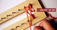 Cómo tejer con telar: bases, puntos y más