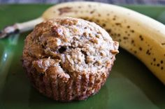 Banana Oatmeal Muffins. Photo by PSASSY  I used apple sauce instead of butter and added 2 tbsp of milk