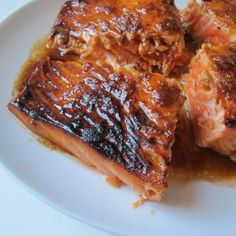 Ginger  Honey, Soy Salmon by Jessica Seinfeld