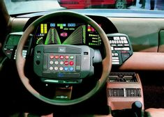 Dashboard for the Lancia Orca from Italdesign