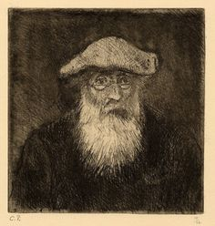 """Camille Pissaro - Self Portrait  """"It is only by drawing often, drawing everything, drawing incessantly, that one fine day you discover to your surprise that you have rendered something in its true character."""" - Camille Pissarro"""