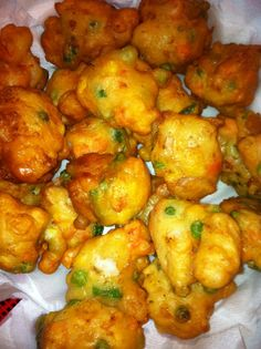 """This is my """"TRIED AND TRUE"""" recipe for Chamorro Shrimp Patties! No island fiesta or bbq is complete without these yummy shrimp morsels on the table. Guam Recipes, Shrimp Recipes, Fish Recipes, Asian Recipes, Cooking Recipes, Hawaiian Recipes, Chamorro Recipes, Chamorro Food, Beignets"""