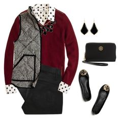 """""""Gamecocks!"""" by sc-prep-girl ❤ liked on Polyvore featuring J.Crew, Kate Spade, Marc by Marc Jacobs, Tory Burch and Kendra Scott"""