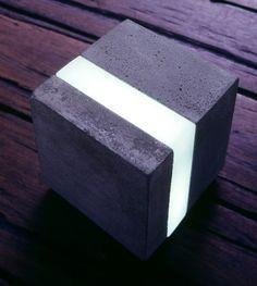David Knott Design_Cast Cement Light